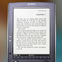 La biblioteca y el libro electrónico de Sony