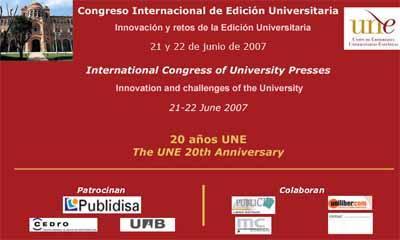La UNE organiza el primer congreso internacional de editoriales universitarias