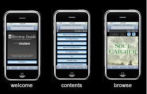 Harper Collins ofrece extractos de sus libros a través del iPhone
