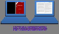 Interlectores, libros digitales en horizontal