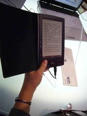 Leyendo manuscritos en un Ebook