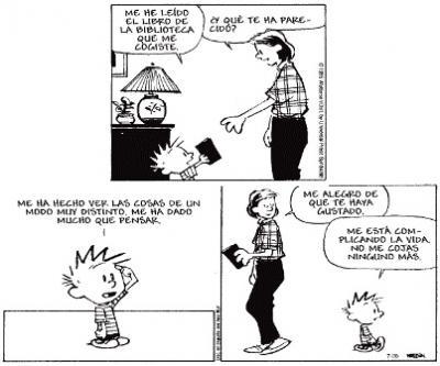 Leer te complica la vida