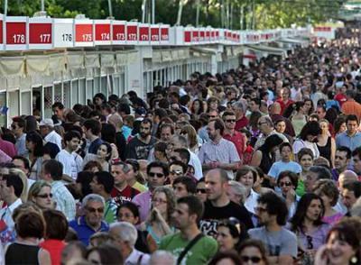 Feria del libro de Madrid 2008