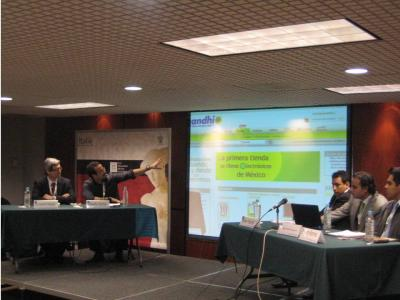 Notas sobre la presentación de la librería de ebooks de Gandhi