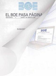 El Boe pasa página