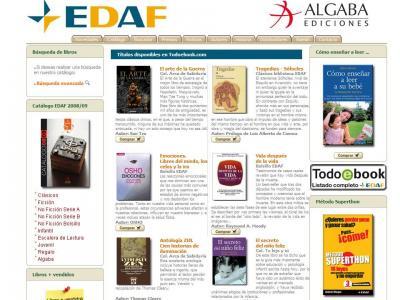 Grupo Edaf estrena tienda Ebook