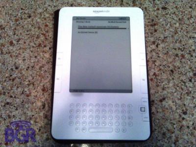 Amazon Kindle 2 ¿para el 9 de Febrero?