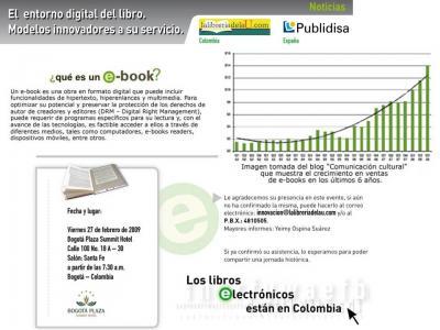 Los Libros Electrónicos Llegan a Colombia