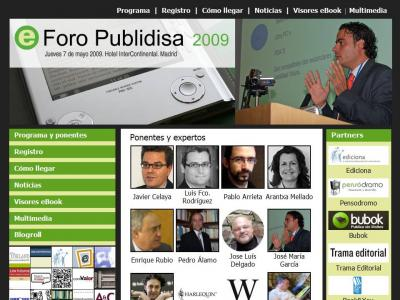 eForo Publidisa 2009. Ebook & Edición Digital.