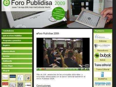 eForo Publidisa 2009 : Conclusiones