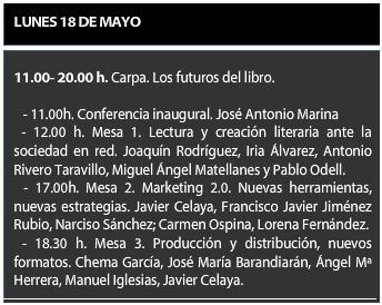 Los Futuros del Libro a Debate en la Feria del libro de Sevilla