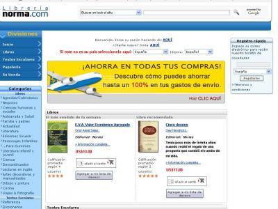 Librería Norma de Colombia creará tienda de eBooks