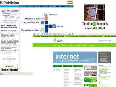 LIBRERIAS Y EDITORES CONECTADOS CON EL eBOOK.