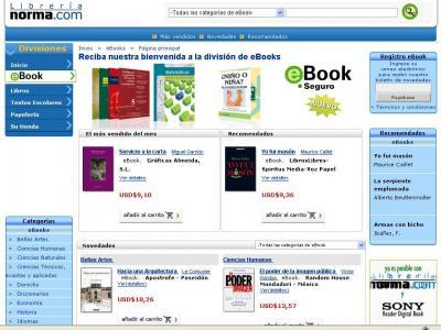 Librería Norma Estrena Tienda Ebook