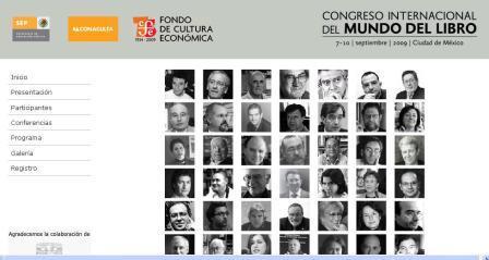 Congreso Internacional del Mundo del Libro en México
